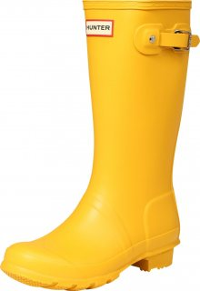 HUNTER Gumové holínky žlutá