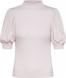 Free People Tričko \'GOOD LUCK\' pink / starorůžová