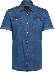 SCOTCH & SODA Košile modrá džínovina