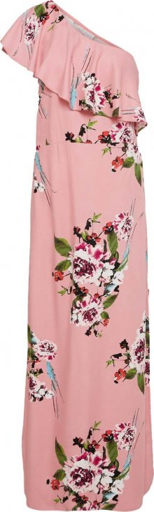 VILA Letní šaty růžová