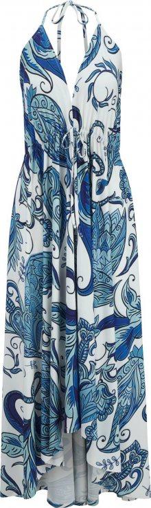 Heine Letní šaty modrá / opálová / bílá