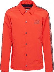 Superdry Přechodná bunda \'CADENCE COACH\' oranžově červená