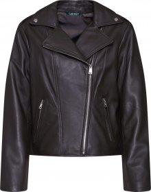 Lauren Ralph Lauren Přechodná bunda \'CLASSIC MOTO-JACKET\' černá