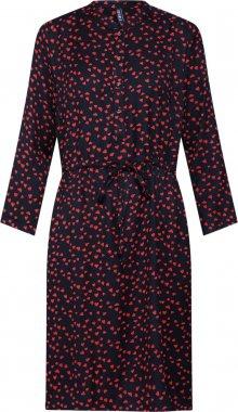 Desires Košilové šaty \'Badisha 3\' světle červená / černá