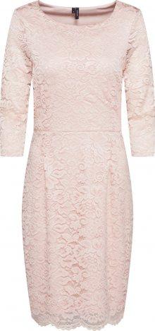 VERO MODA Pouzdrové šaty růžová