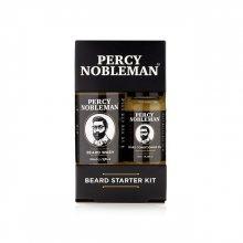 Percy Nobleman Malá dárková sada péče o vousy a knír (Beard Starter Kit)