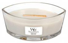 WoodWick vonná svíčka Warm Wool loď