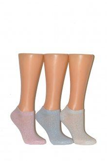 Dámské kotníkové ponožky Gramark 1391 modrá 39-41