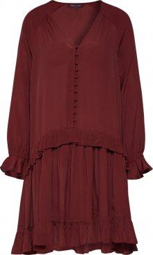 Farina Opoku Košilové šaty \'Priya\' rezavě červená / vínově červená