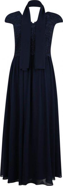 My Mascara Curves Společenské šaty \'SLEEVE LACE\' námořnická modř