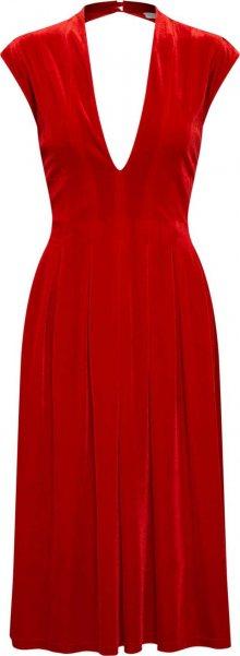 VILA Šaty \'VIZELDA S/L DRESS/DC\' červená
