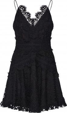 Love Triangle Koktejlové šaty \'Passion Pop Dress\' černá