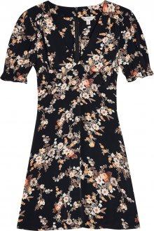 Miss Selfridge Šaty \'DITSY TEA DRESS\' mix barev / černá