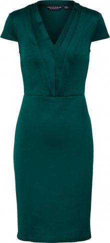 Dorothy Perkins Společenské šaty \'V NECK PENCIL\' tmavě zelená