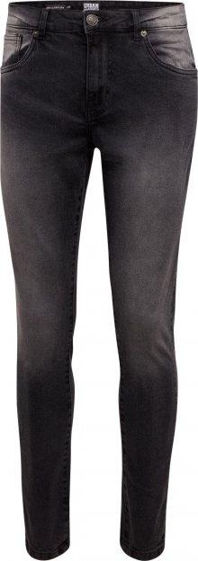 Urban Classics Džíny \'Relaxed Fit Jeans\' černá džínovina