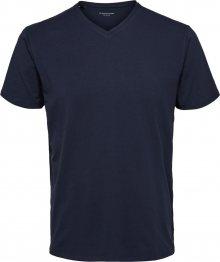 SELECTED HOMME Tričko námořnická modř