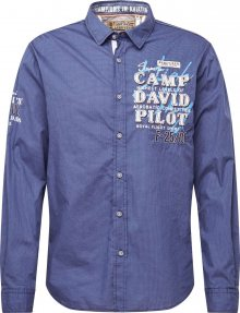 CAMP DAVID Košile modrá