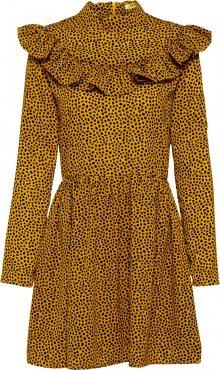 GLAMOROUS Letní šaty zlatá