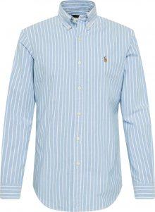 POLO RALPH LAUREN Společenská košile modrá / bílá