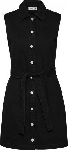EDITED Košilové šaty \'Diya\' černá