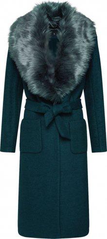 ONLY Přechodný kabát \'onlJOLIE LONG FUR WOOL COAT OTW\' zelená