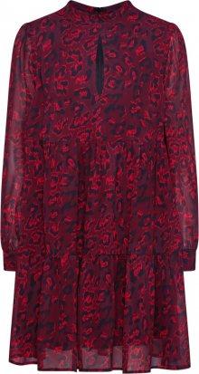 Farina Opoku Košilové šaty \'SANJIRA\' tmavě červená