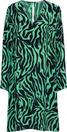 DRYKORN Šaty \'JOSY\' zelená / černá