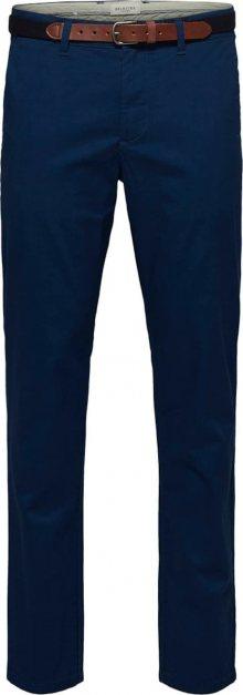 SELECTED HOMME Chino kalhoty \'SLHYARD\' modrá