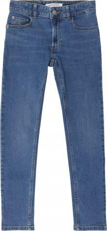 Calvin Klein Jeans Džíny \'SKINNY ESSENTIAL FRE\' modrá džínovina