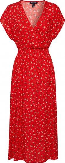 NEW LOOK Společenské šaty \'NELL ROSE MIDI\' červená