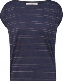 sessun Tričko námořnická modř / bílá