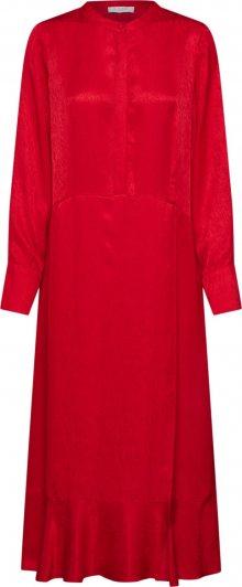 NORR Košilové šaty \'Harper dress\' červená