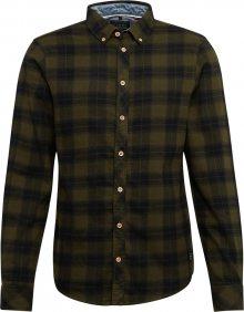 BLEND Košile khaki