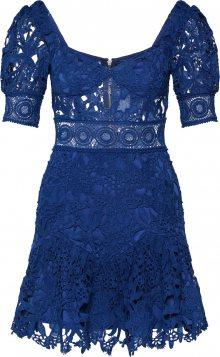 Love Triangle Koktejlové šaty \'Aurora Skies Dress\' námořnická modř