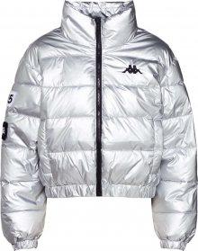 KAPPA Zimní bunda \'Authentic LA Boltan\' stříbrná