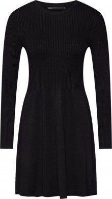 ONLY Úpletové šaty \'ALMA\' černá