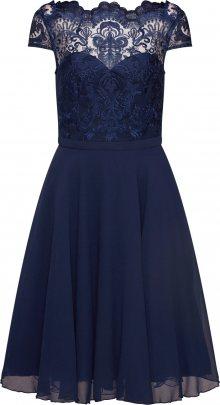 Chi Chi London Koktejlové šaty \'CHI CHI SANI DRESS\' námořnická modř