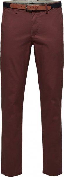 SELECTED HOMME Chino kalhoty \'SLHYARD\' rubínově červená