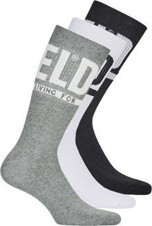 Diesel Sada pánských ponožek SKM-RAY-Threepack Socks 3pack 00SAYJ-0QATV-E3843 M