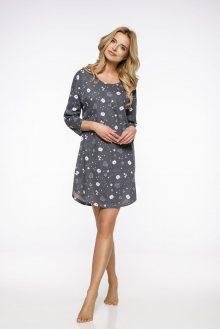 Dlouhá dámská noční košile 2235 JURATA S-XL 2019/2020 J šedí medvídci M
