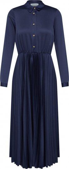 Closet London Košilové šaty \'Closet Pleated Shirt Dress\' námořnická modř