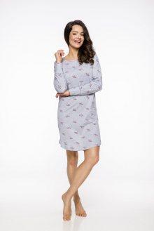 Dlouhá dámská noční košile 2114 GALA S-XL 2019/2020 J šedá XL