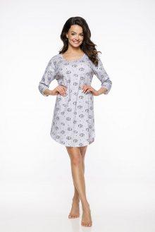 Dlouhá dámská noční košile 2235 JURATA S-XL 2019/2020 J šedí mývalové M