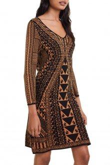 Desigual podzimní šaty Vest Giulia - S