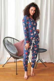 Dámské pyžamo 9723 světle růžová XL