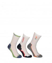 Ponožky Gramark Coach Tramper 0246 tmavá-mix vzorů 42-44