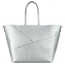 Luna Large Kabelka Calvin Klein | Stříbrná | Dámské | UNI