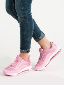 Originální  tenisky růžové dámské bez podpatku 38