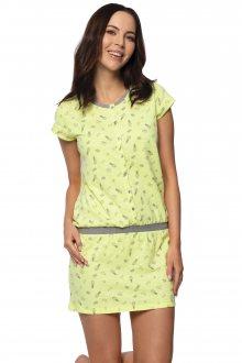 Dámská noční košile Rossli SAL-ND-2054 citronová S
