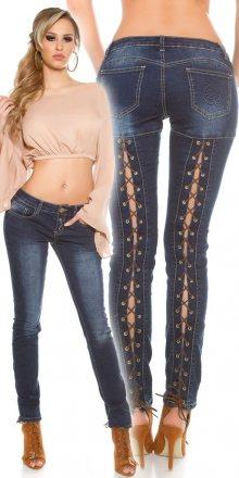 Koucla Modré úzké džíny